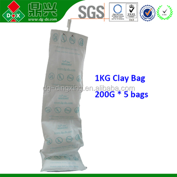 Wholesale Hanging Calcium Chloride water absorber Sea Container Desiccant for Shipping ,