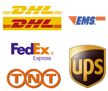 DHL FedEx UPS worldwide shipping services from China to USA/UK/Japan/India
