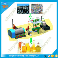 continuous waste plastic processing machinery and cap of 15-20 T/D plastic recycling device
