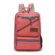 China supplier bag big capacity promotional canvas backpack
