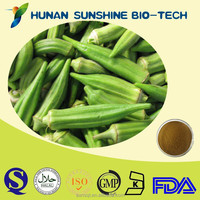 Hot sale Abelmoschus esculentus (Linn.)/Okra extract/Okra Seed Extract10:1