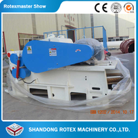 Diesel engine wood chipper biomass crusher Tree branch chipper shredder chips machine