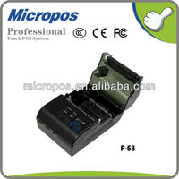 58mm bluetooth thermal mini pos printer