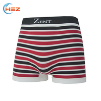HSZ-0013 Comfort Breathable Sexy Hot Men Panty New Design 2017 Trendy Printed Underwear Colorful Boxers Shorts For Russian Men