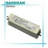 external fluorescent lamps driver supply with high power factor