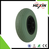 Good quality and high performance 200*50 PU solid front tire/tyre, electric mobility scooter wheel, PU wheel