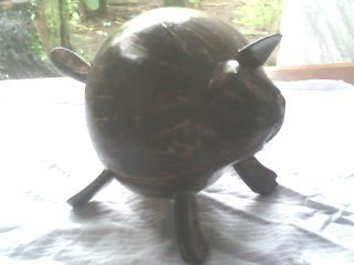 coconut shell Figurine