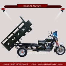 Alibaba golden supplier kavaki rickshaw tricycle three wheel motorcycle gasoline for sale