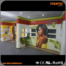 Customized Pop Up Exhibition Partition Walls Displays