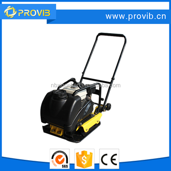 C90 loncin vibrating plate compactor with water tank