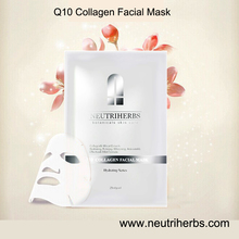Best Skin Face Care Product Neutriherbs Q10 Collagen Facial Mask For Anti Aging & Anti Wrinkle