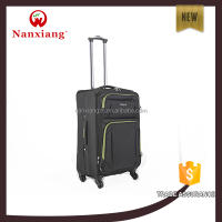 red black purple soft trolley luggage