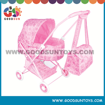 Hot Selling Twin Baby doll carts for child twin doll walker