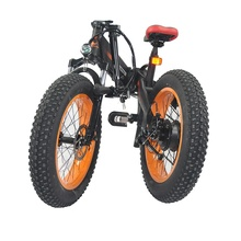 Electric Bicycle 48V 500W folding electric bike 20inch china electric fat bike wholesale