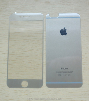 Sinva factory Best quality! For iPhone 6 tempered glass screen protector wholesale!
