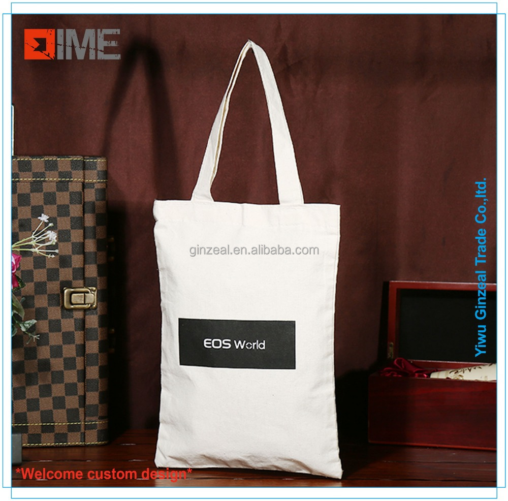 Factory Sell Customized Logo Wholesale Promotional Canvas Tote Bag
