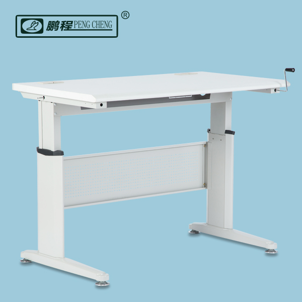 Manual height adjustable office desk | Manual height adjustable desk