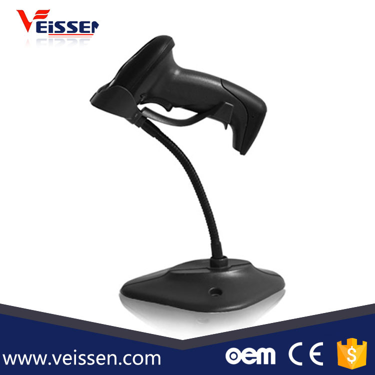 VS-BC20A 1d hands free barcode scanner in wide scanning angle for supermarket