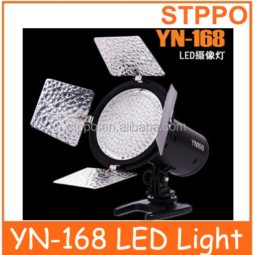 YN-168 Yong Nuo 168pcs LED Studio Video shooting LED Light for Camera Camcorder