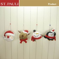 2015 Novelty Xmas ornament crafts santa&snowman&penguin&reindeer