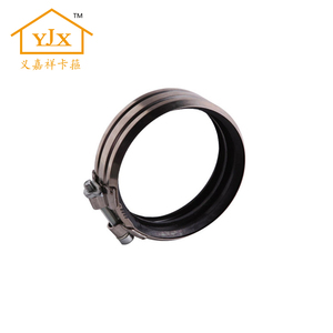 double bolt hose clamp/concrete pump pipe coupling/concrete hose clamp