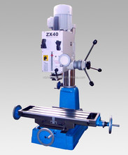 New Vertical Drilling And Milling Machine ZX40 For Metal Processing
