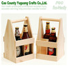 Wooden Beer Carrier 2 Bottoles Beer