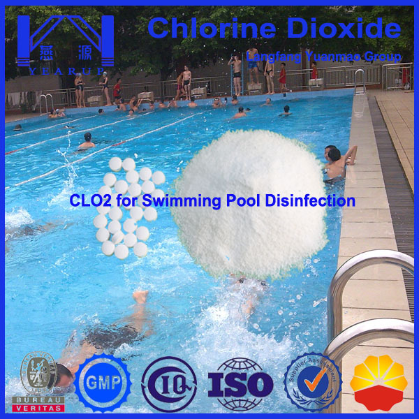 Swimming Pool Chemical Swimming Pools Sterilization Chlorine Dioxide Chemical Of Water
