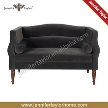 Europe velvet antique style living room furniture sofa