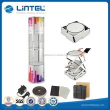 Trade show rotating aluminum tower stand display (LT-07)