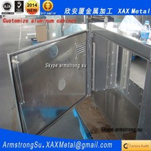 XAX991Alu OEM ODM customized suntron programmable control eletrical with 12 keys aluminum panel chassis