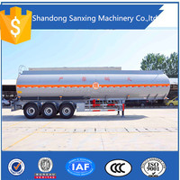 50000 liters fuel tank semi trailer, bulk cement tank semi trailer in Africa market