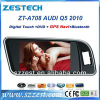"ZESTECH Wholesales 7"" touch screen 2 din car dvd player for Audi Q5 car dvd gps navigation"