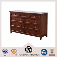 Classic cabinet rustic chinese antique furniture sideboard with drawers