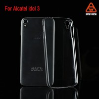Guangzhou manufacture professional mobile phone Clear ultra thin case for Alcatel idol 3(5.5)/6045K