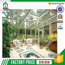 2.0 mm thickness white color customized aluminum sunroom