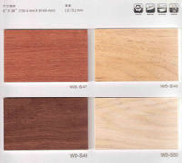 plastic pvc flooring wood look