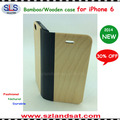 "2015 New and Hot Sale wooden book case for iphone 5.5"" & 4.7"" IPC365"