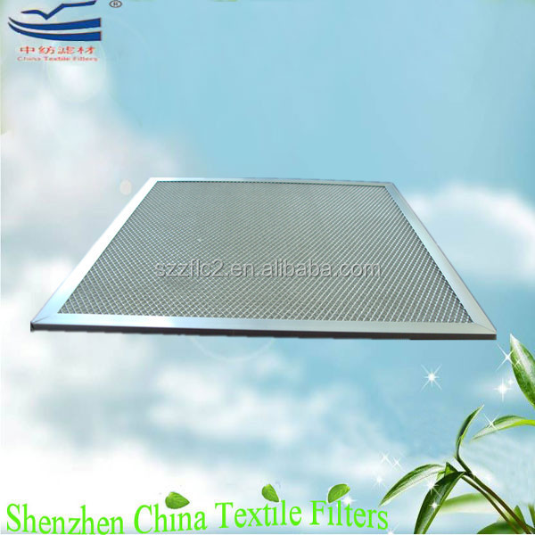 Aluminum honeycomb carrier nano-silver photocatalyst filter