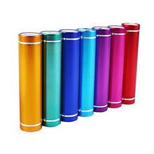 factory cheap price cylinder mini power bank for all mobile phones 2600mah