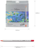 72 Color Marco Fine Oil Colored Pencil Set