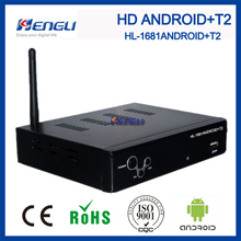 High quanlity android dvbt2 hd receiver android modem tv universal