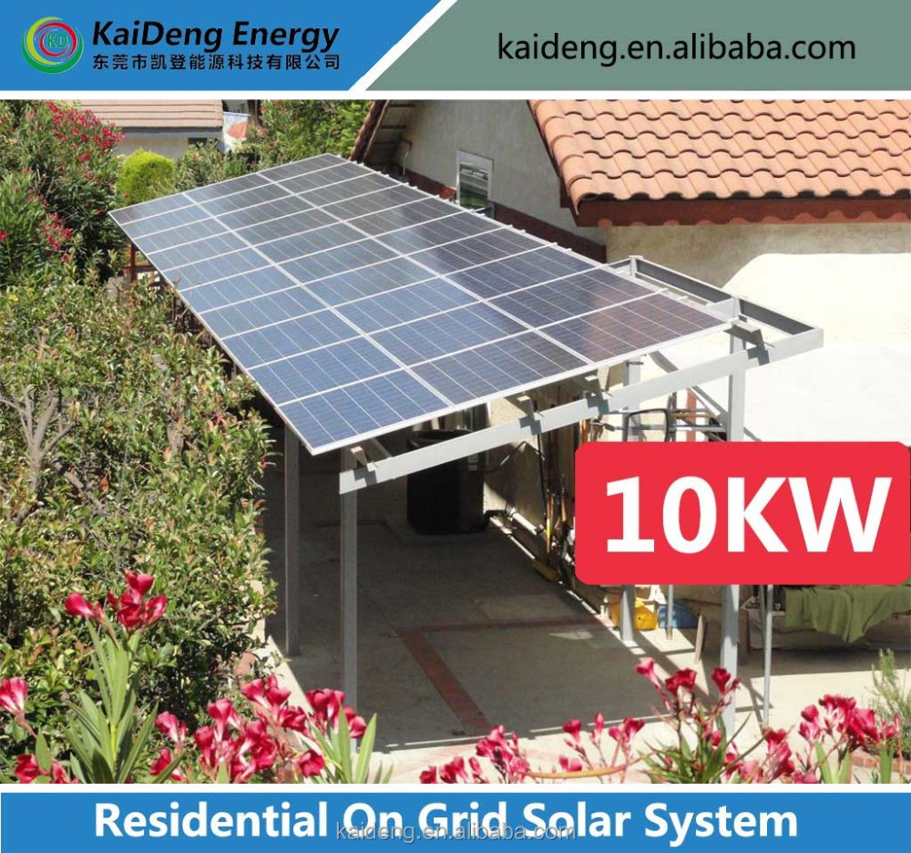 On grid solar system for home use/Photovoltaic power generation system