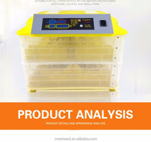 HHD CE/FCC Approved Full Automatic 112 Eggs Chicken/Quail/Duck/snake Egg Incubator For Sale