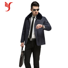 High quality winter coat best winter heavy down bomber jacket for mens