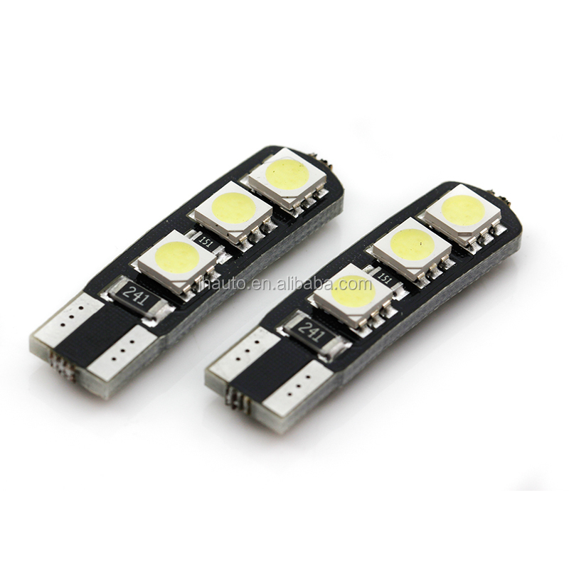 T10 W5W Canbus Car LED Auto Bulb Interior Light Motorcycle 5050 SMD Error Free Car Accessories