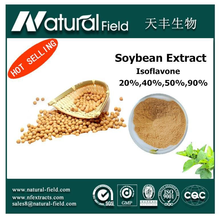 Strictly testing before shipping Soy Isoflavones p.e.
