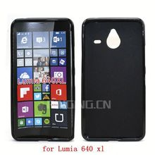 GuangZhou Pinjun wholesale phone case accessories for Nokia Lumia 640 xl black cover