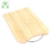 High quality bamboo cutting board chopping block with metal handle