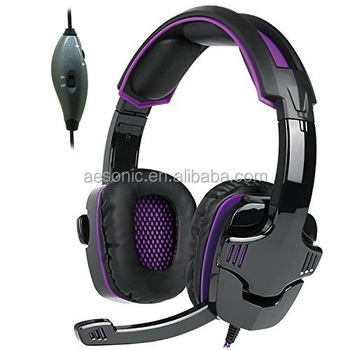 Fashion Top sale gaming headset with MIC customized OEM gaming headphones